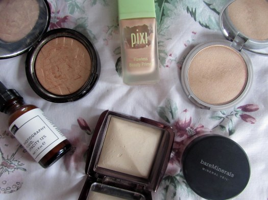 glowy makeup nio anastasia beverley hills the balm mary loumanizer bareminerals hourglass ambient lighting powder pixi flawless beauty primer 2