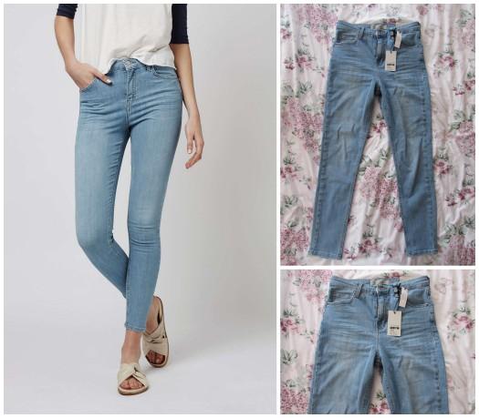 topshop haul bleach jamie jeans