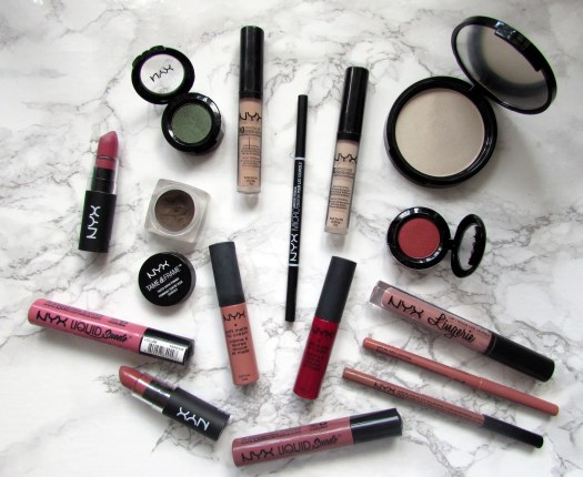 nyx collection and reviews