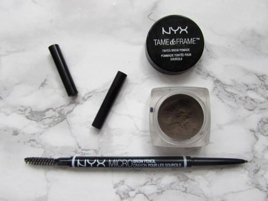 nyx tinted brow pomade brunette micro brow pencil ash brown