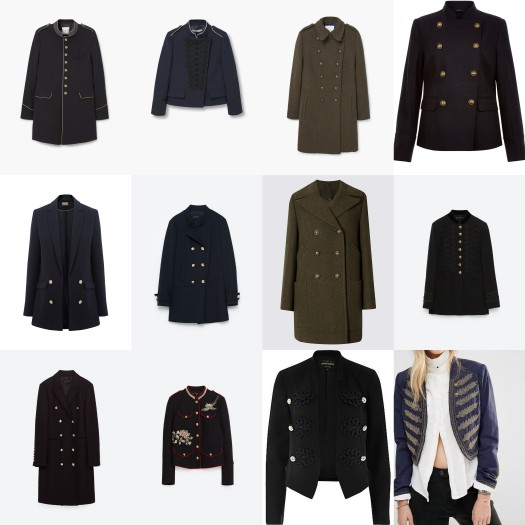 Military jackets wishlist round up high street affordable