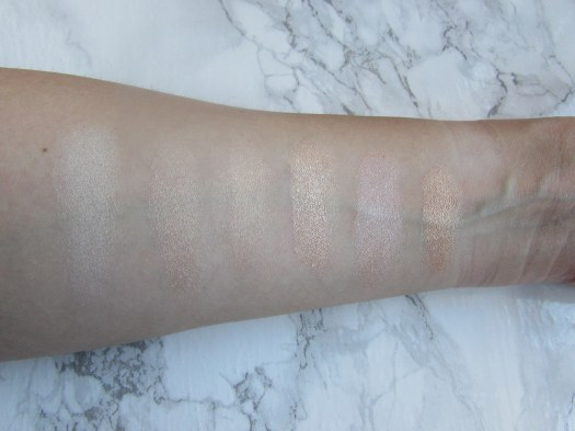 highlighter-collection-anastasia-beverly-hills-illuminator-becca-shimmering-skin-perfector-pressed-champagne-pop-moonstone-poured-the-balm-mary-lou-manizer-sleek-3