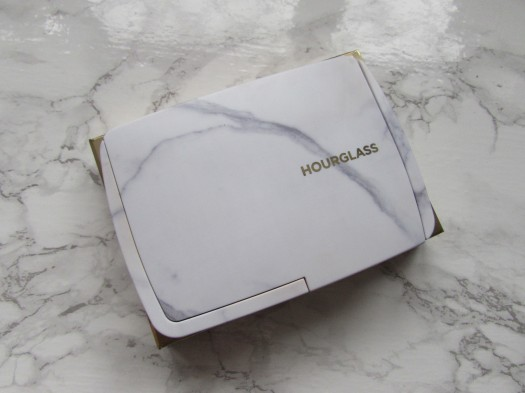 hourglass ambient lighting powder palette edit surreal light review marble packaging