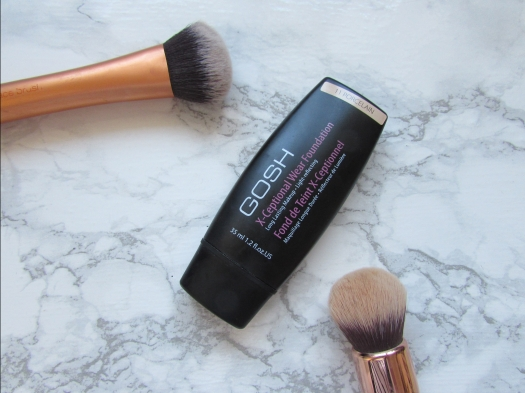 gosh x-ceptional wear foundation porcelain review