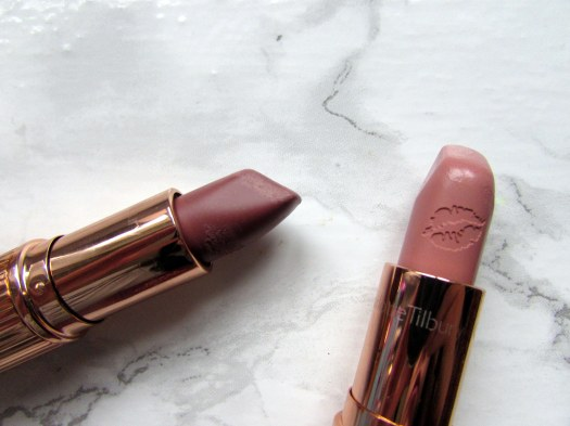charlotte tilbury matte revolution hot lips lipstick very victoria kim kw kardashian west review swatch swatches (3)