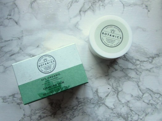 boots botanics organic hot cloth cleansing balm