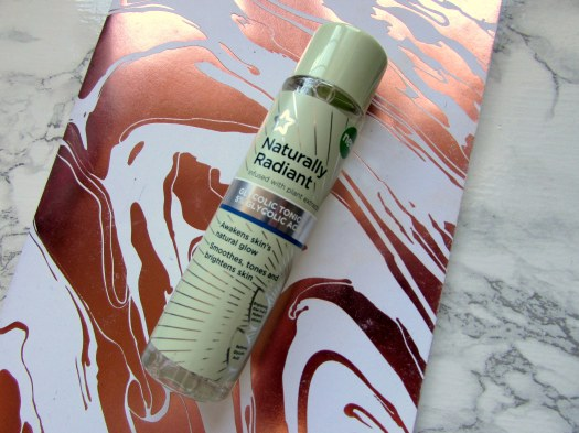superdrug naturally radiant 5% glycolic acid tonic toning solution review