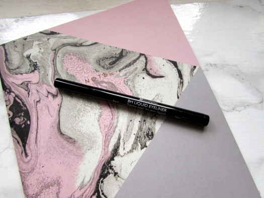 bh cosmetics black liquid eye liner pen felt tip beauty blog review (5)