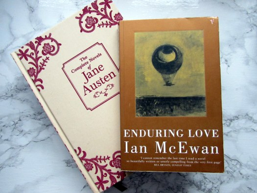 enduring love ian mcewan northanger abbey persuasion jane austen book blogger review