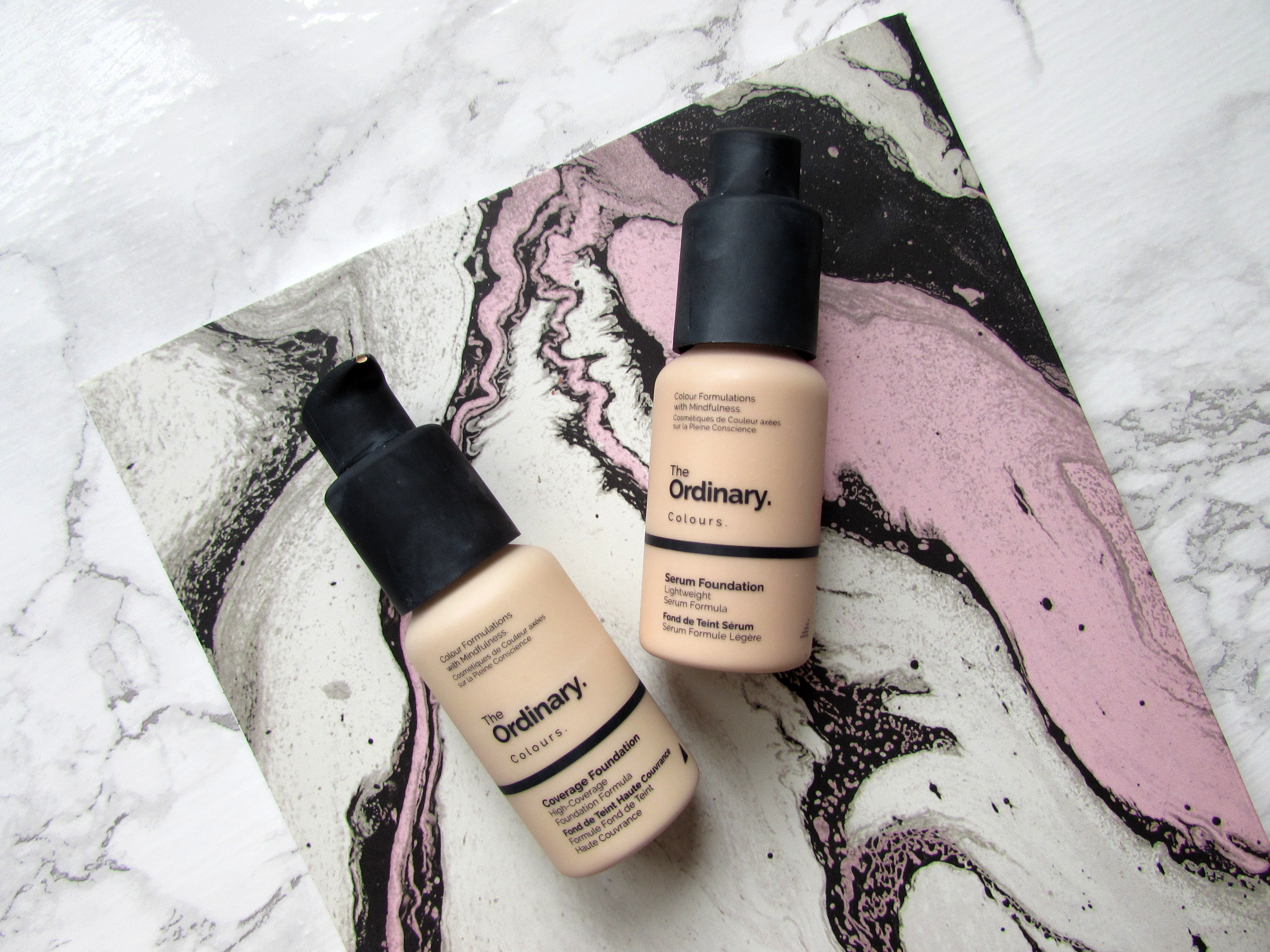 The Ordinary Serum And Coverage Foundation Reviews Nicole Laura Xo