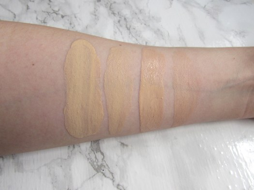 the ordinary colours colors serum coverage foundation review 1.1N 1.1P swatches