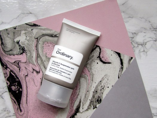 the ordinary vitamin c 30% suspension in silicone deciem review