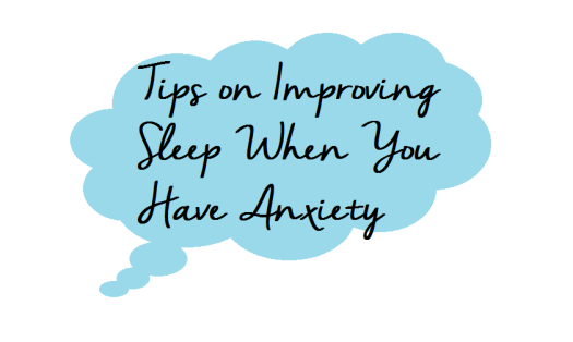 tips and tricks how to improve sleep when you have anxiety sleeping problems anxious worrying