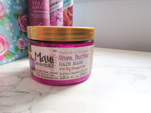 Maui Moisture Revive & Hydrate Shea Butter Hair Mask review conditioner (2)