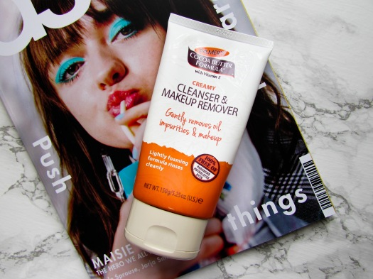 Palmer's Creamy Cleanser and Makeup Remover cocoa butter formula review