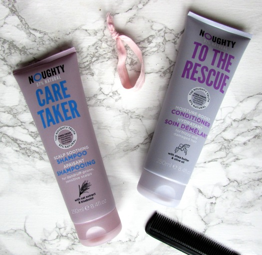 noughty care taker scalp soothing shampoo to the rescue moisture conditioner