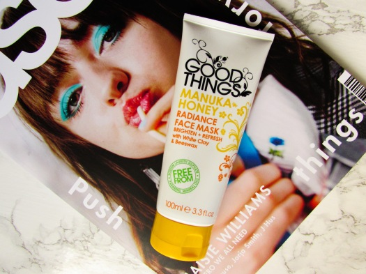 good things manuka honey radiance clay face mask review