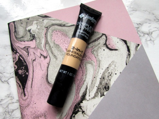 jordana complete cover maximum coverage 2 in 1 concealer and foundation review