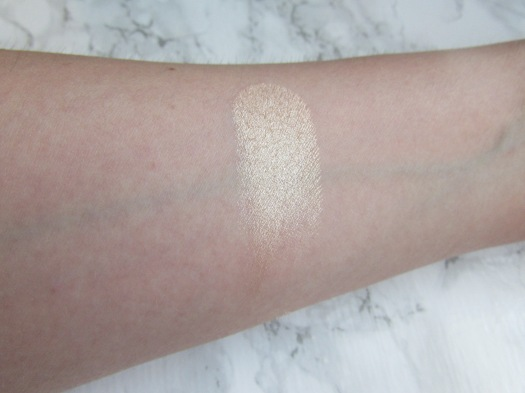 the balm mary-lou manizer highlighter review swatch